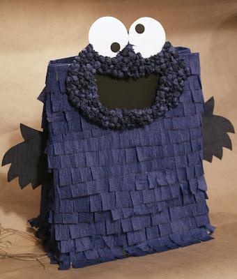 Paper Bag Monster Pinata Craft