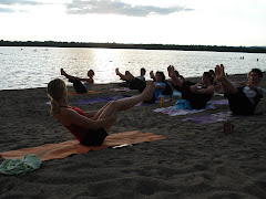 Inaugural Yoga on Westboro Beach 2006