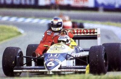 GP da Alemanha de 1986: o brasileiro Nelson Piquet e o finlandês Keke Rosberg