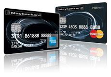 Maybankard 2 Card American Express Visa MasterCard