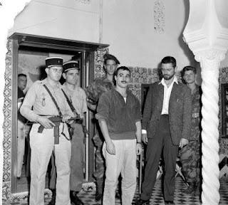 arrestation de Yacef Saadi  par le 1er REP Yacef+Saadi+(1)