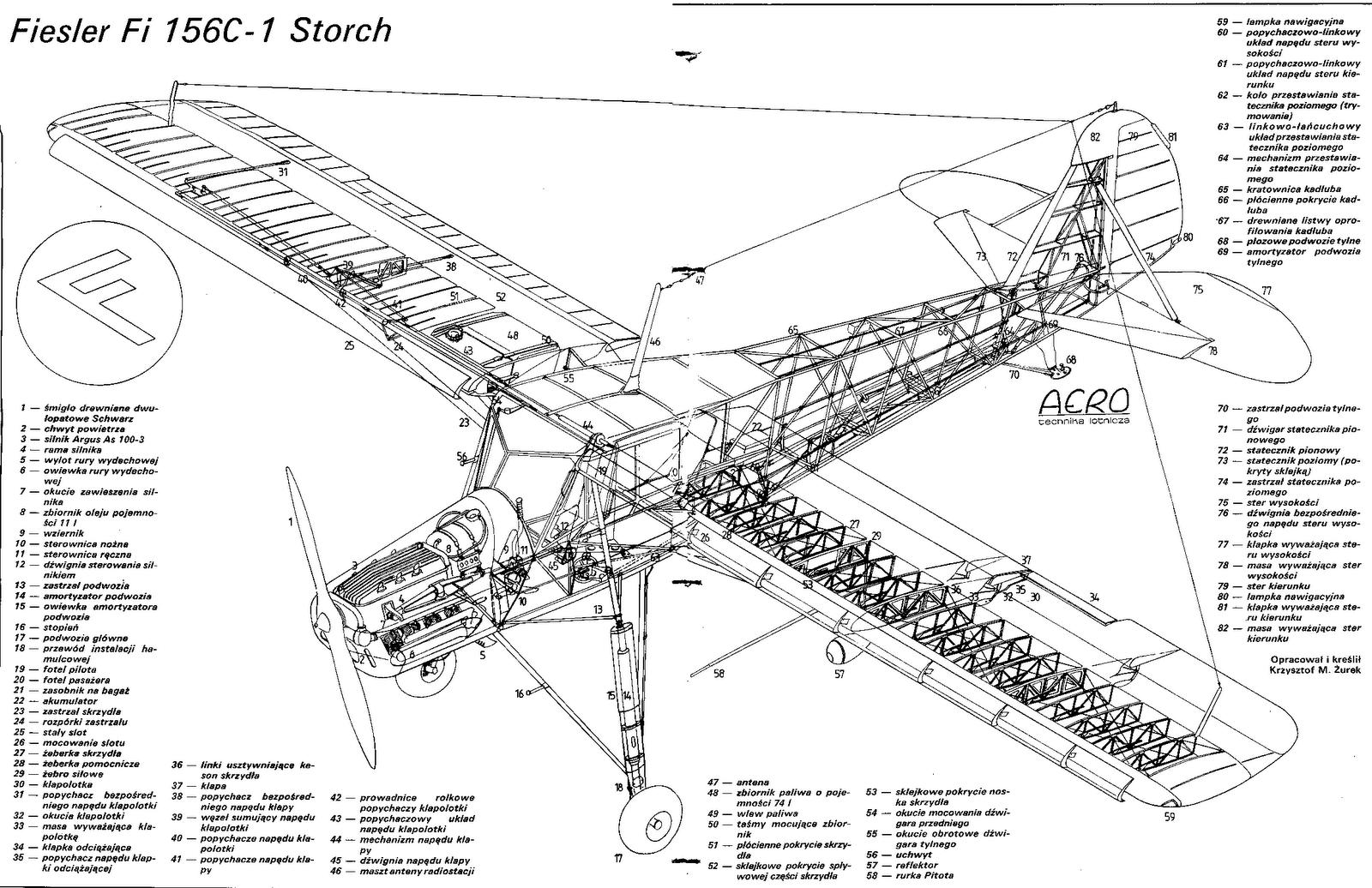 Cmte Zimerer Fi 156 R C Scale Fieseler Storch