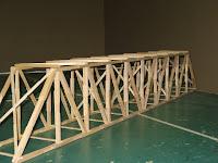 Exploring Technologies Popsicle Stick Bridge