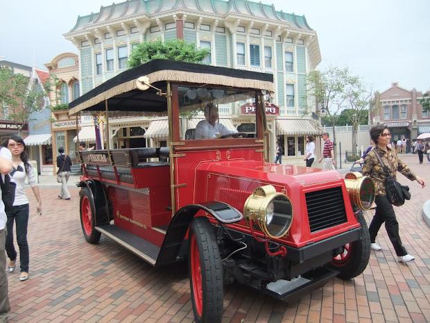 Hong Kong Disneyland Guide & Main Street Vehicles