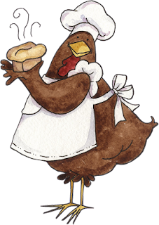divertidas caricaturas de gallina cocinera en png