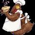Dibujos color de cocineros y camareros