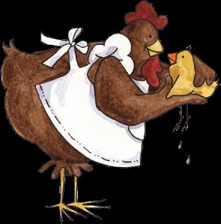 divertidas caricaturas de gallina  en png