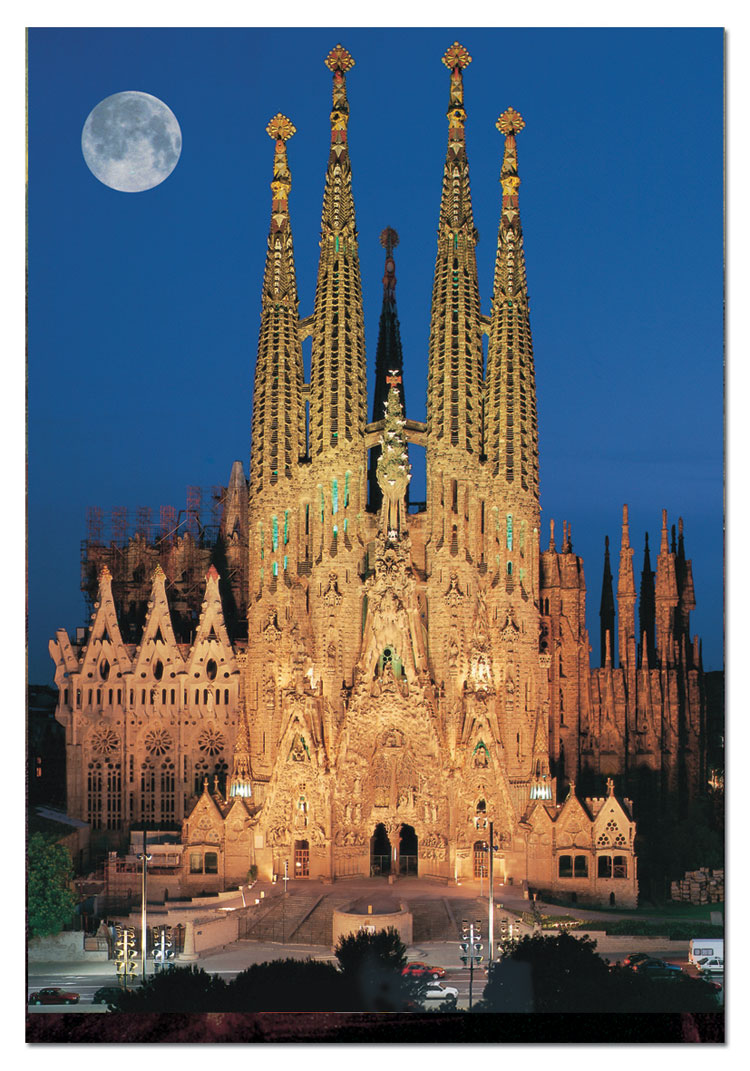 Sagrada Familia: DC Barroco: Pope Dedicates A Gaudí Church