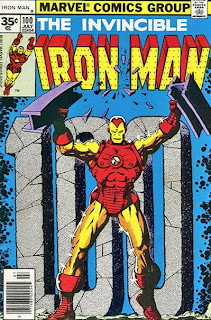 Feel The Power!  IRON MAN #100