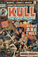 By This Axe I Rule!  KULL THE DESTROYER #11