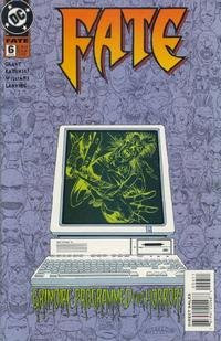Fate battles Grimoire, evil computer, FATE #6