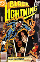 The good ole days of the DC Explosion!  BLACK LIGHTNING #9
