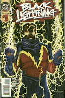 BL in his second, badass costume.  BLACK LIGHTNING v.2 #1