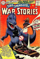 The Dinosaur Who Ate Torpedos!  STAR SPANGLED WAR STORIES #123
