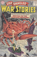 Battle of the Dinosaur Aquarium! STAR SPANGLED WAR STORIES #107