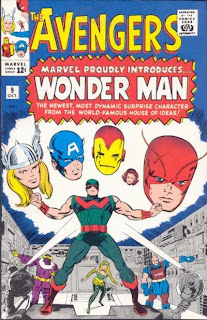 AVENGERS #9, Wonder Man's First Appearance