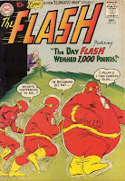 Gorilla Grodd makes Flash the Fattest Man Alive, FLASH #115