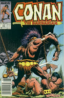 Welcome to the furry underwear group!  CONAN THE BARBARIAN #195