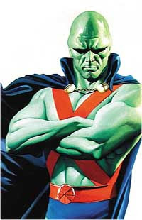 Alex Ross's Martian Manhunter