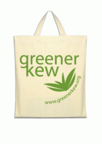 Kew goes plastic-bag-free