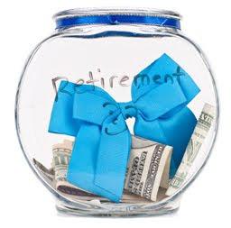 Retirement contribution secure financial optimization