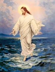 Jesús sobre el agua