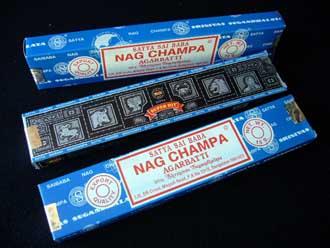 Sahumerios Nag Champa