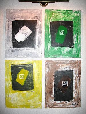Pintura: As quatro Estações do Ano