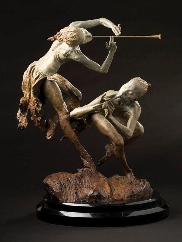 sculptures in bronze vera richarda