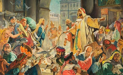 21st Century British Nationalism: The CofE - Money changers in the