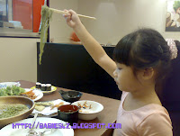 L using chopsticks