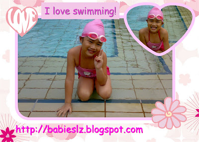I love Swimming!