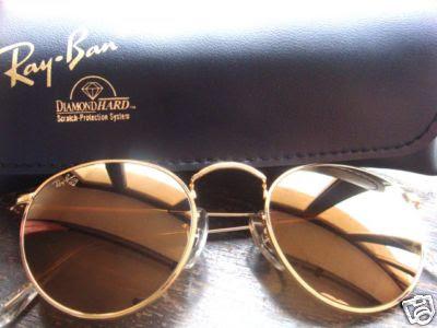 6b91bfd3a3 ... 50% off ray ban diamond hard sunglasses round rare e19fc 563da
