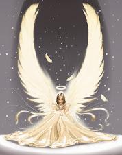 Anjos voando...