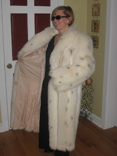 Lafourrure2 Polar Fox Fur Coat