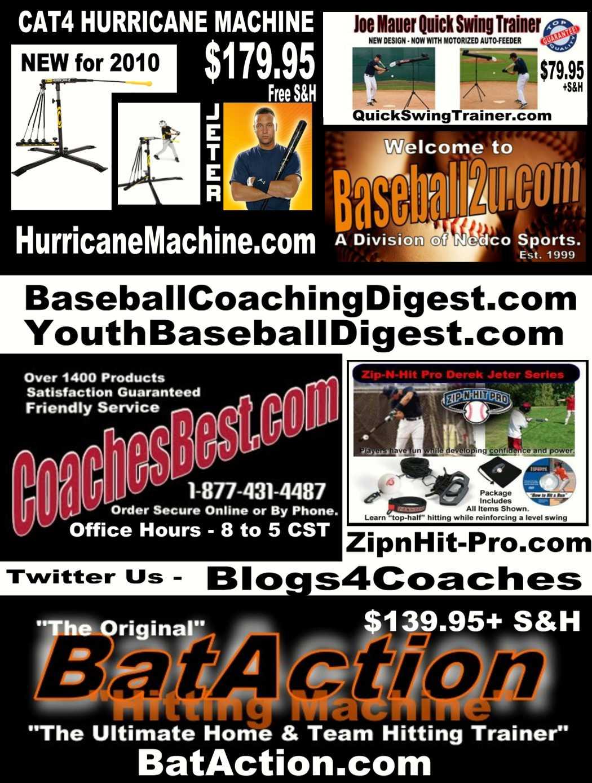 BaseballCoachingDigest com - Today's Feature Article