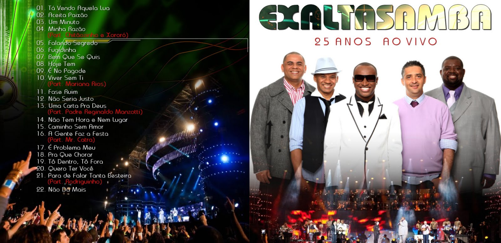 o cd do exaltasamba 25 anos