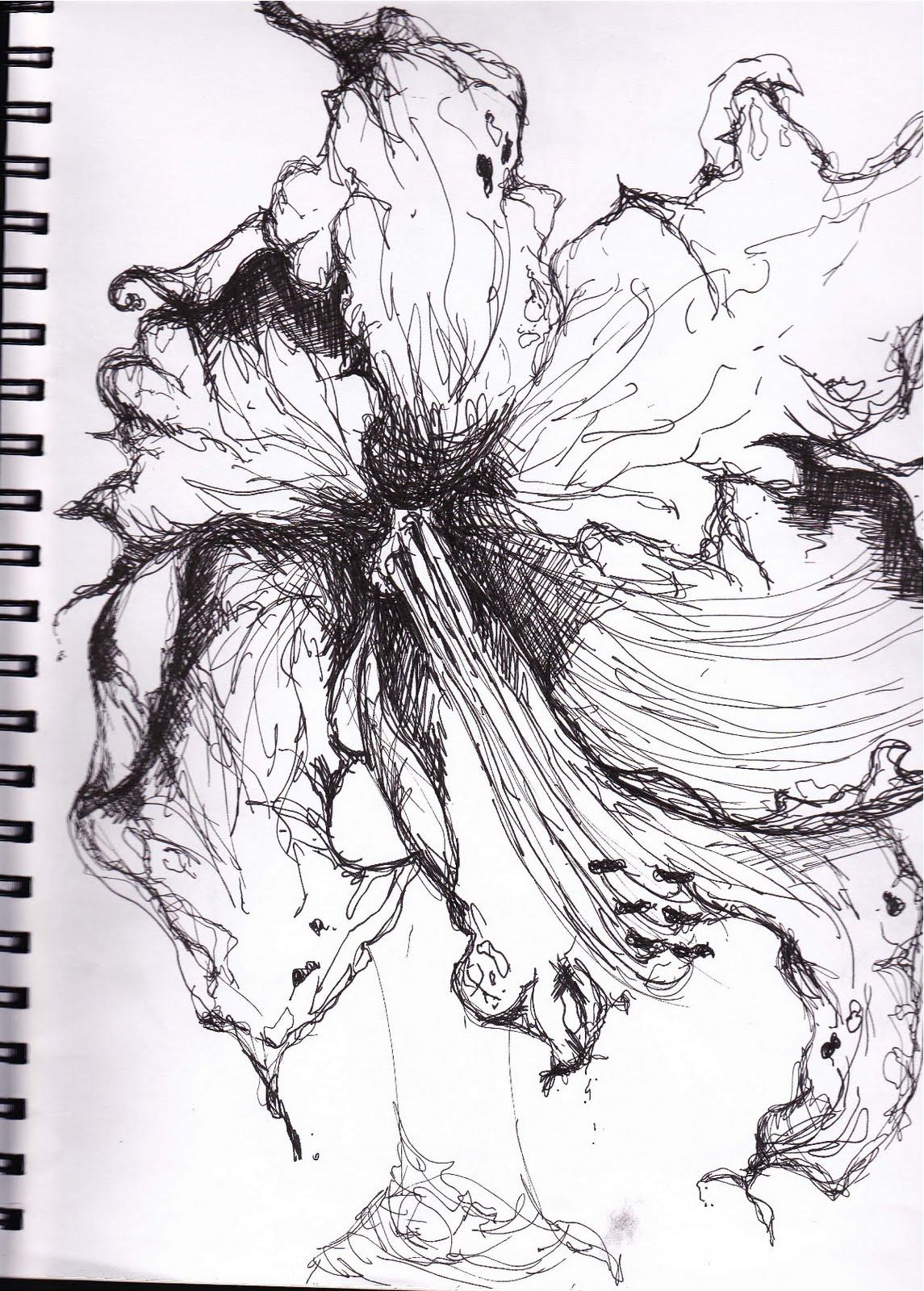 Sketch Bookies Botanical Pen Amp Ink Drawings