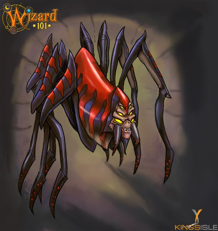 The Friendly Necromancer Pet Of The Day Spiders