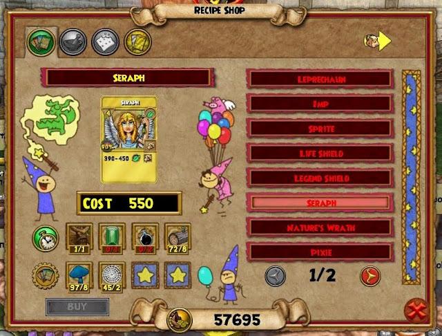 Wizard Nature S Wrath Treasure Card