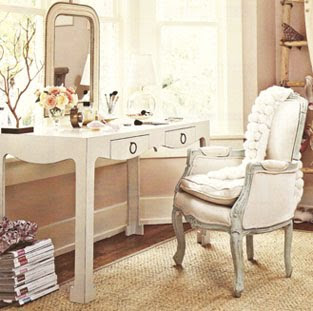 glamorous dressing table