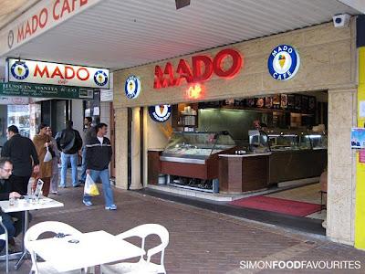 Simon Food Favourites: Mado Cafe Restaurant: Turkish Ice Cream. Auburn (13 June 2009)