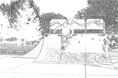 Jeff's Skateboard Page: Rain