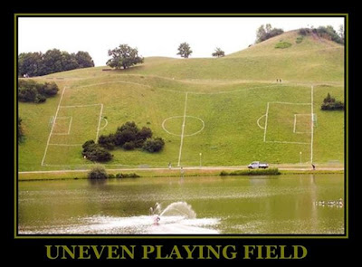 Image result for uneven playing field