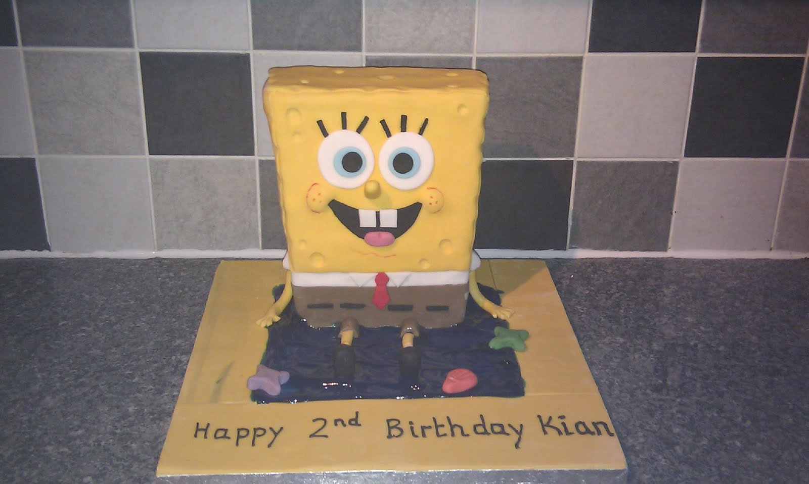 Sam S Cakes Spongebob Squarepants Cake