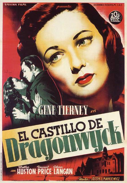 Programa de Cine - El Castillo de Dragonwyck - Gene Tierney - Walter Huston - Vincent Price