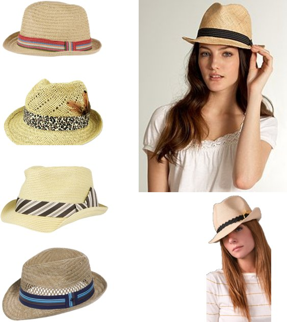 82aa9873 There's only one kind of fedora that straight girls wear, and it's this one: