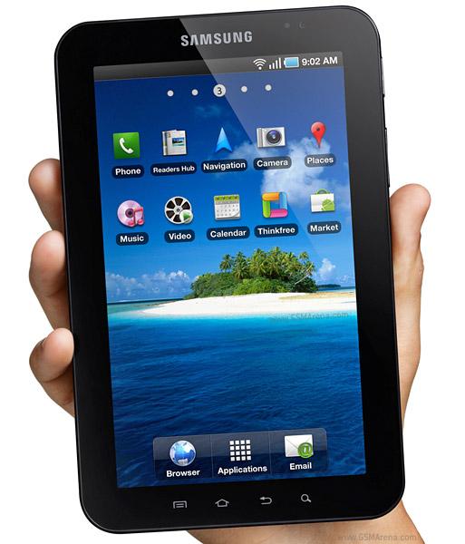 Samsung Galaxy: Samsung Galaxy Tab P1000 Review