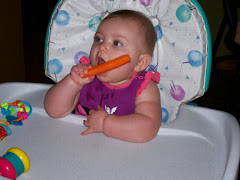 Grandma let me chew on a carrot