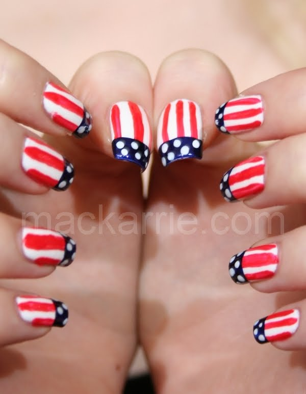 Mackarrie beauty style blog nail design us flag mit tutorial for Interior design 7 0 tutorial
